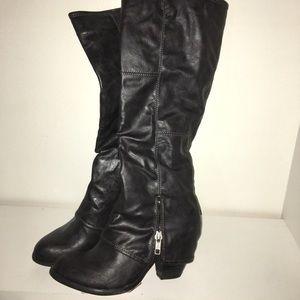 NWT Fergalicious Knee High Boots